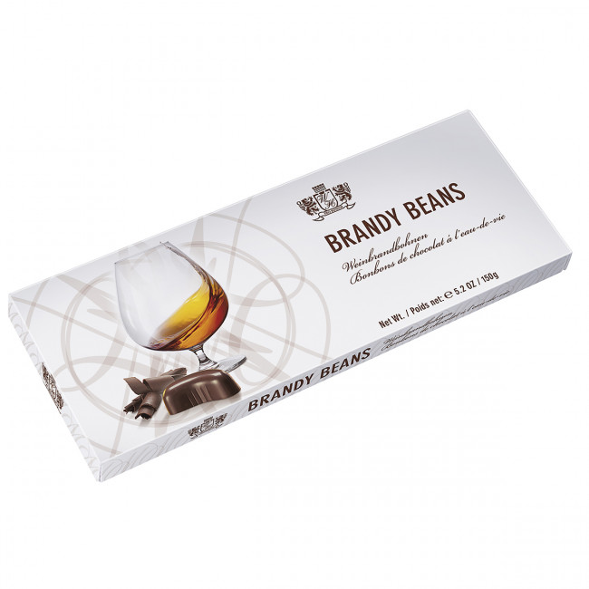 "Шоколадные конфеты ""Worner  Hudson"" с бренди 150г."