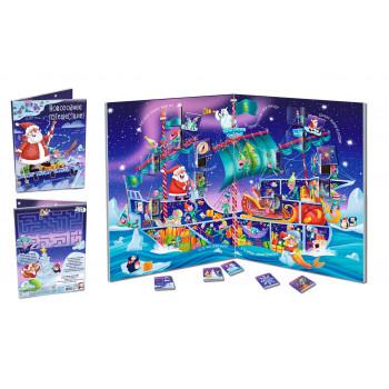 Адвент-календарь Chokocat Новогоднее Путешествие  30 плиток шоколада