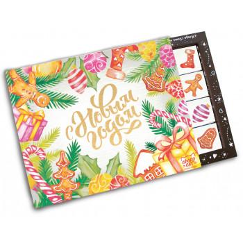 Chokocat БИГ Акварельный 20 плиток шоколада, 100 гр