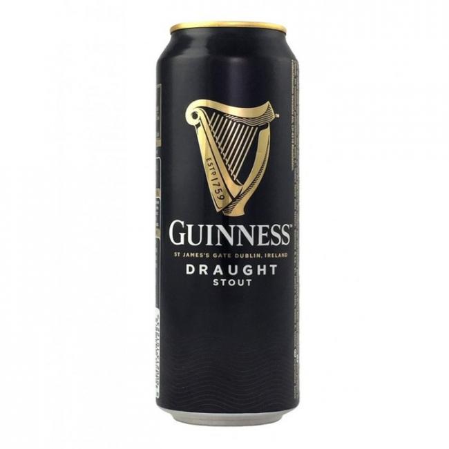 Пиво Guinness Draught Тёмное алк. 4,2%, банка 0,44 л