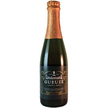 Пиво Lindemans Gueuze Светлое нефильтрованное алк. 4,5%, 0.25 л