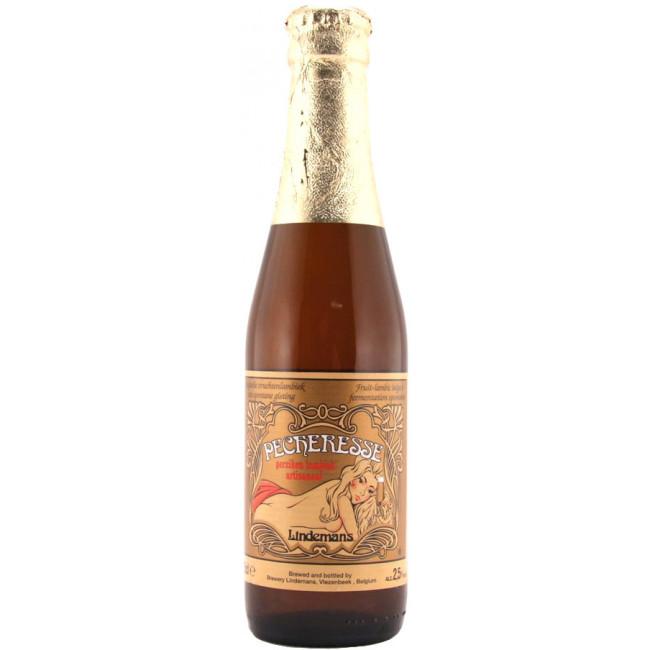 Пиво Lindemans Pecheresse Светлое алк. 2,5%, 0.25 л