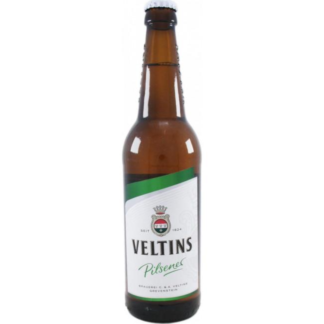 Пиво Veltins Pilsener Светлое фильтрованное алк. 4,8%, 0.5л