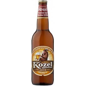 Пиво Велкопоповицкий Козел Светлое фильтрованное алк. 4,6%, 0.5 л