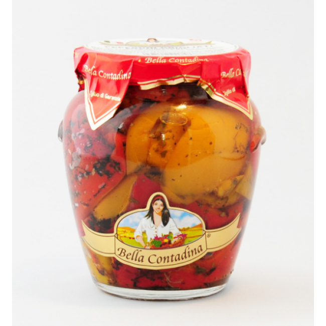 Маринованные перцы запеченые на гриле Cirillo Group - Bella Contadina 0,580г