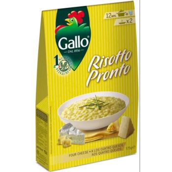 Ризотто четыре сыра riso gallo 175 г