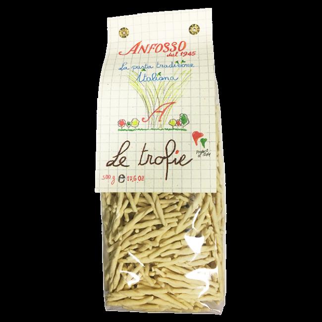 Макаронные изделия без яиц Le trofie Anfosso 500 г