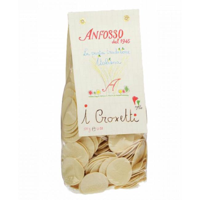 Макаронные изделия без яиц Croxetti Anfosso 500 г