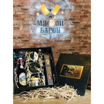 Мужская подарочная коробка  Охотники М4405